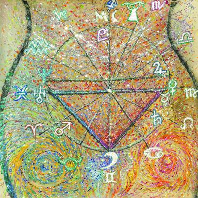 Lettura astrologica di una notte di racconti di streghe di Felis Nusselein